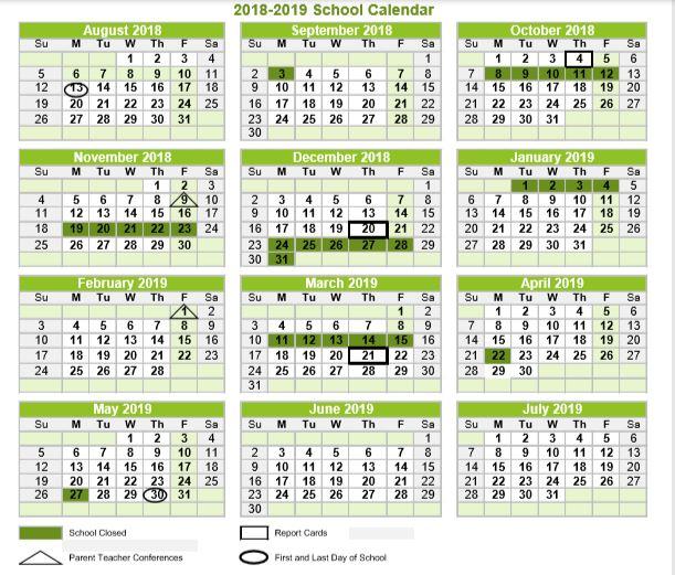 yearly calendar tisa taos